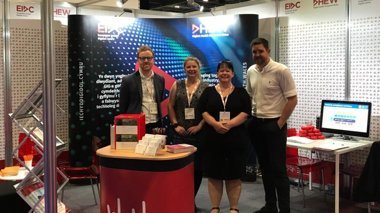 DHEW team at DHS London 2019